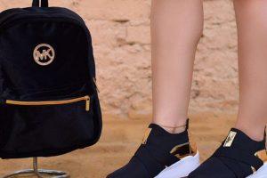 Bolso mas zapatos de moda mk negros