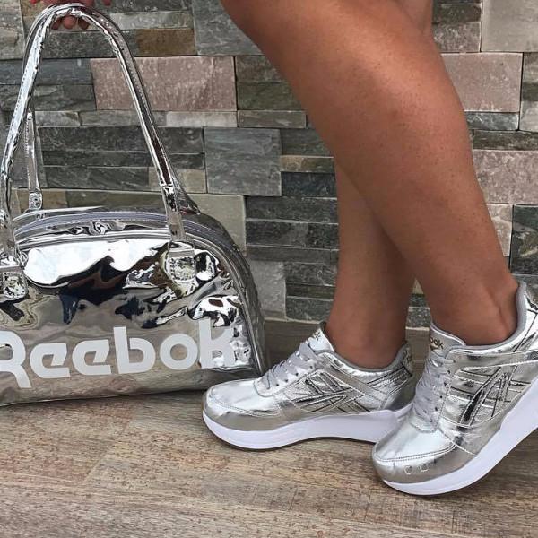 bolsos mas zapatos rebook