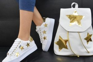 Duo bolso mas zapatos de moda