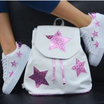 Bolso mas zapatos de moda