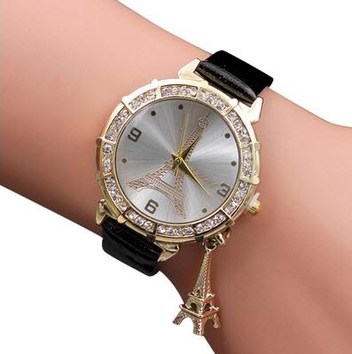493d4c88cccd Reloj de Pulsera De Metal Para Mujer color Negro – DeProductos.com