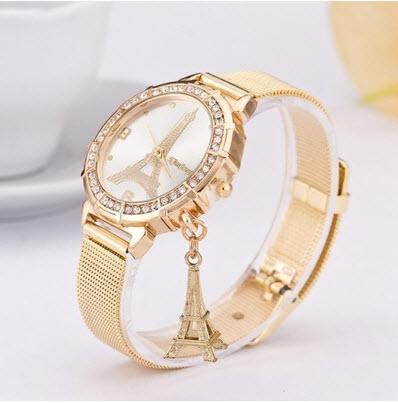 9d33fba86598 Reloj de Pulsera De Metal Para Mujer color Rojo – DeProductos.com