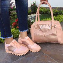 zapatos bonitos rosados