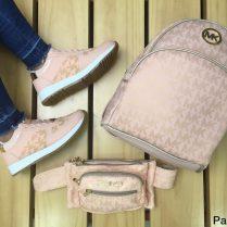 Duos zapatos y bolso de modas