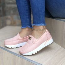 Zapatos de moda rosados