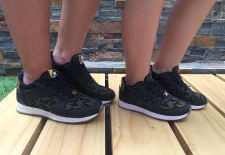 zapatos de moda bonitos negros