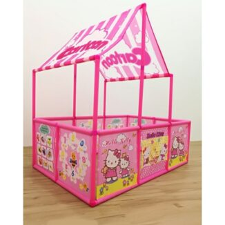 Carpa casita de pelotas para niñas