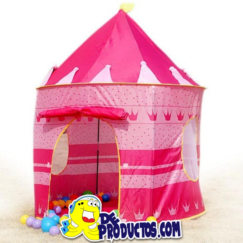 carpa castillo princesas