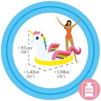 Flotador Intex Inflable Unicornio